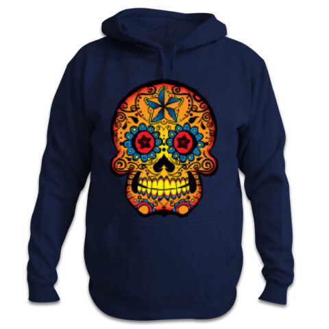 Guys hoody with Skull - Death to Cancer Gig